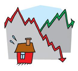 symbolikuva talouskäyristä