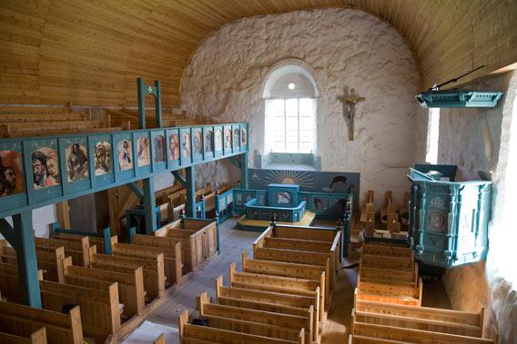 tyrvään pyhän olavin kirkko