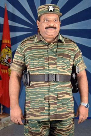 tamilisissijohtaja Velupillai Prabhakaran