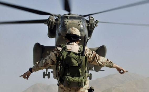 ISAF-sotilas Afganistanissa