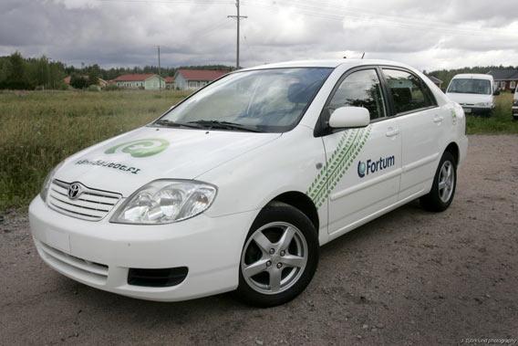 Sähköauto Corolla