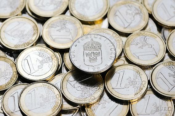 Ruotsin Kruunu Euroina