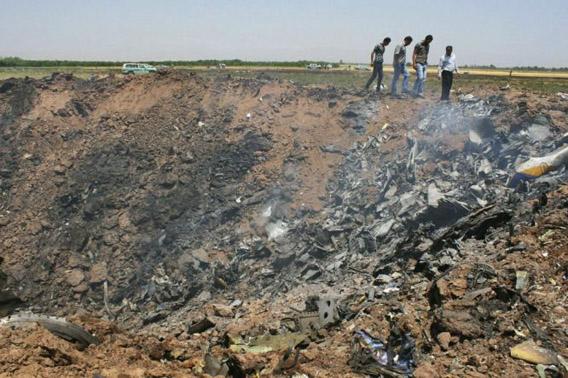Iranilaiskoneen onnettomuus 15.7.2009