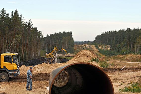 Nord Stream kaasuputki Viipuri