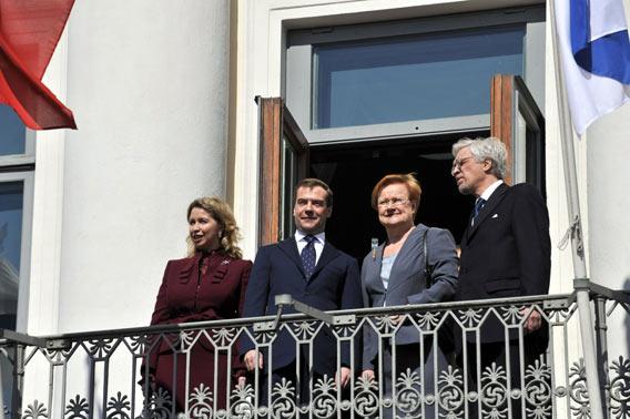 Medvedev Suomessa