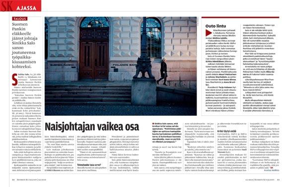 Suomen Kuvalehti Sinikka Salo