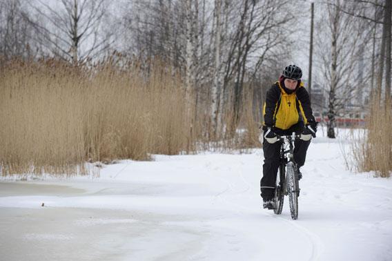Talvipyöräily päästökauppa