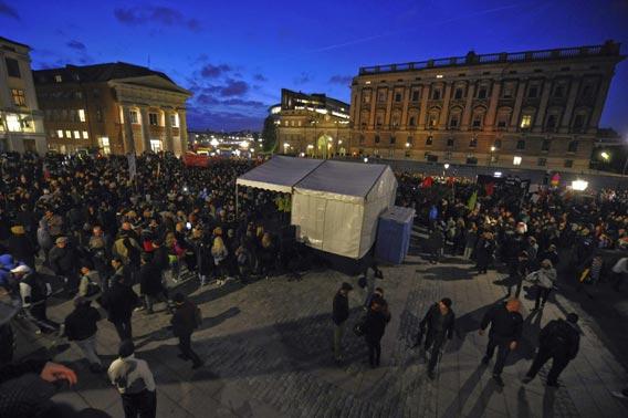 Mielenosoitus Tukholma