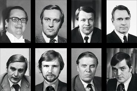 Suomalaisia vaikuttajai 1970-luvulla