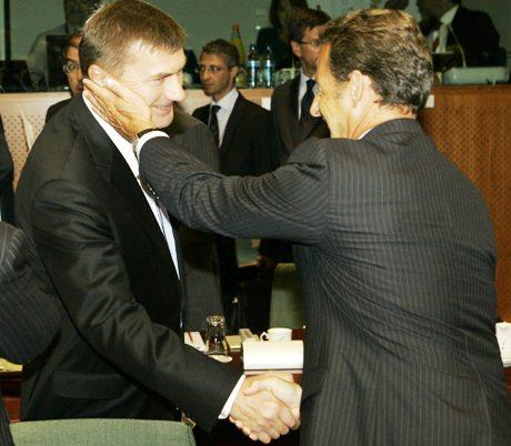 Ansip ja Sarkozy 010908
