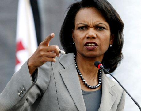 USA:n ulkoministeri Condoleezza Rice