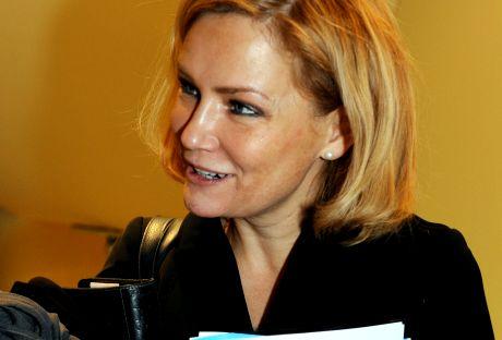 Eija-Riitta Korhola 15. marraskuuta 2008 puoluevaltuuston kokouksessa.