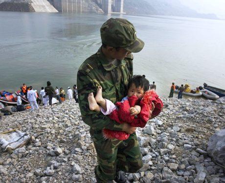 Maanjäristys Kiinassa
