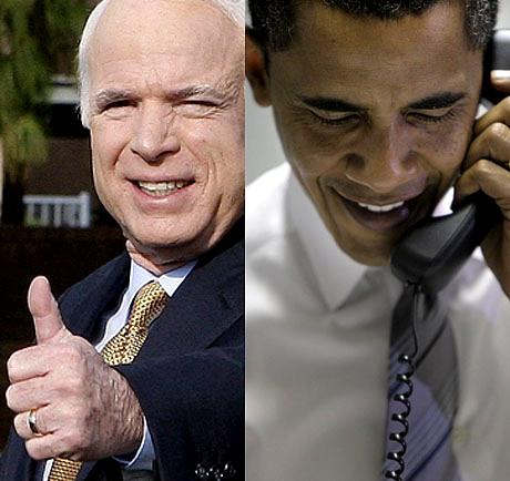 McCain vastaan Obama