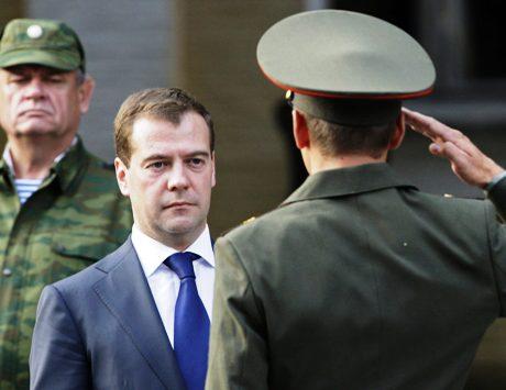 Venäjän presidentti Dmitri Medvedev