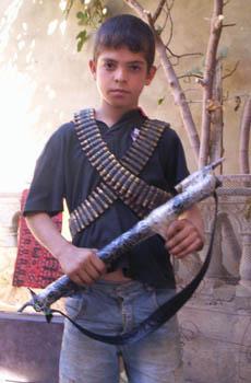 poika ja ase
