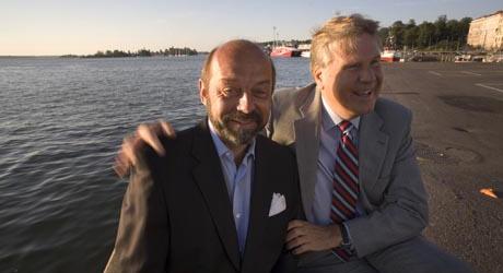 Ilkka Brotherus ja Curt Lindbom