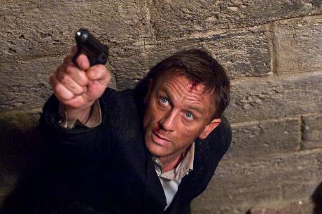 James Bond Quantum of Solace Daniel Graig