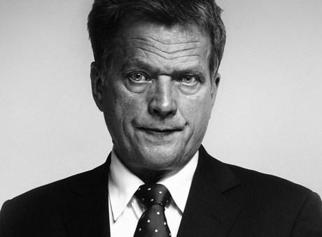 Sauli Niinistö huhtikuussa 2008