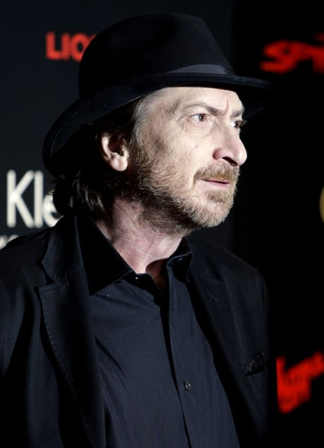 "U.S. writer and film director Frank Miller arrives at a party for the upcoming release of his film ""The Spirit"", in central London, Thursday, Dec. 4, 2008. (AP Photo/Joel Ryan)"