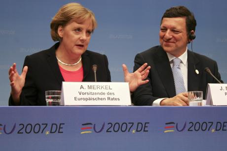 Merkel & Barroso