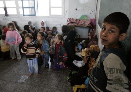 palestiinalaislapsia gazasssa