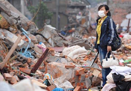 jälkijäristyksiä kiinassa