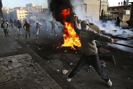 palestiinalaismielenosoittaja