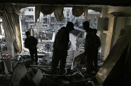 rauniot gazassa