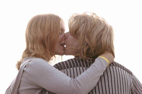 suuteleva pari