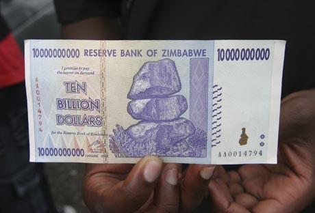 kymmenen miljardin dollarin seteli