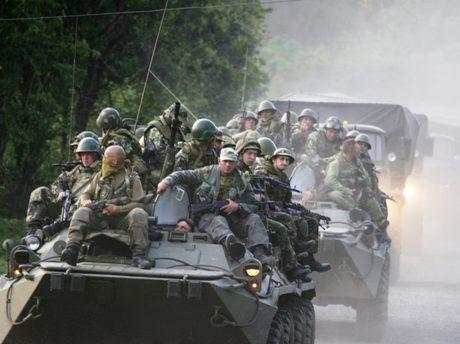 venäläisjoukkoja