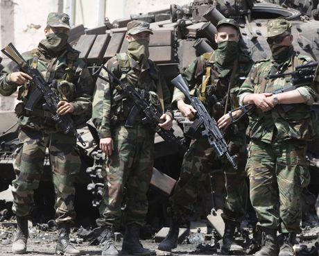 venäläissotilaita