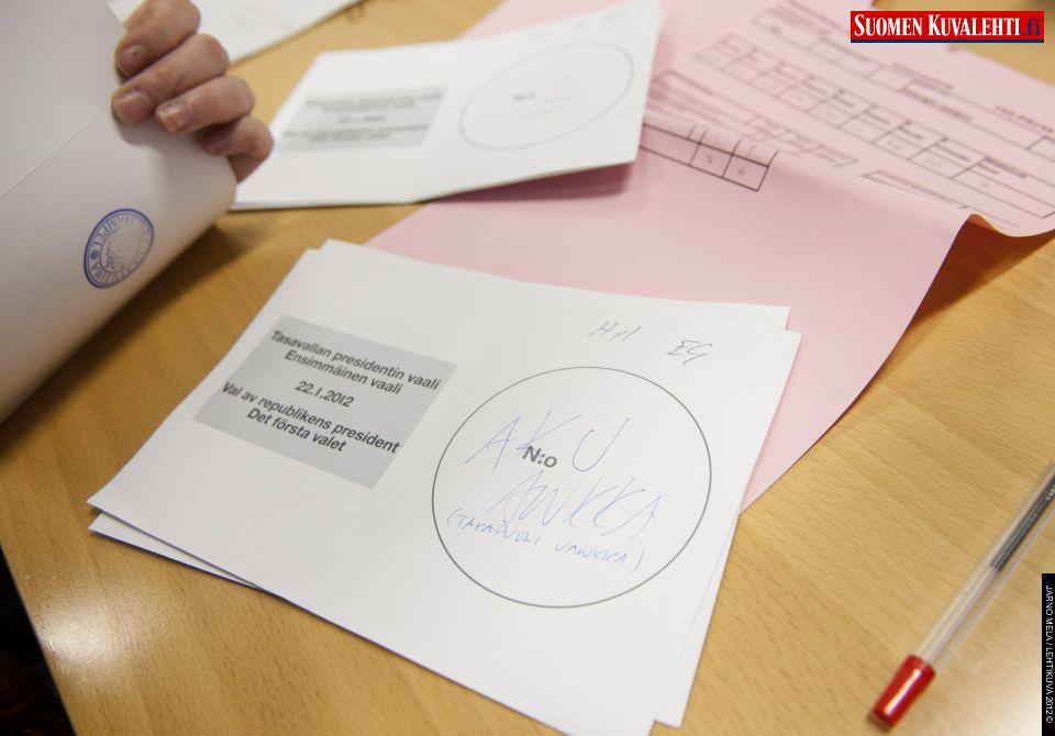 Hylätyt äänestysliput